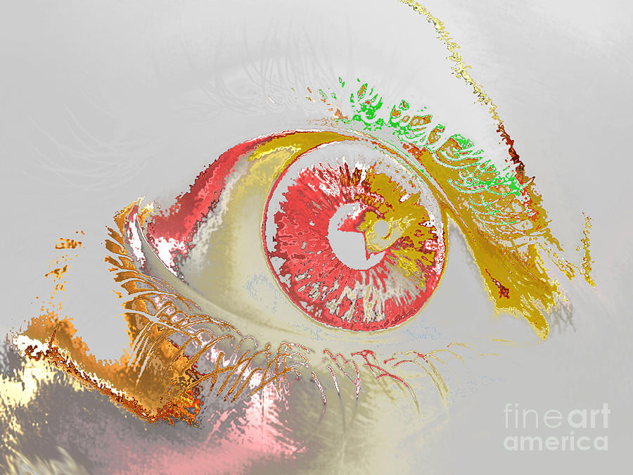 Eye Digital Art - Eye 2 by Soumya Bouchachi