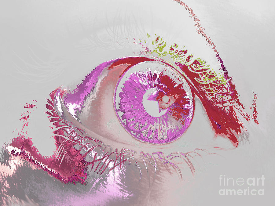 Eye Digital Art - Eye 3 by Soumya Bouchachi