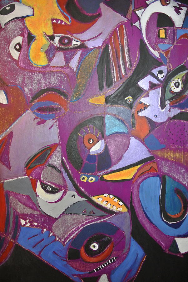 Wild Kingdom Painting - Eye Candy  by Tyler Schmeling