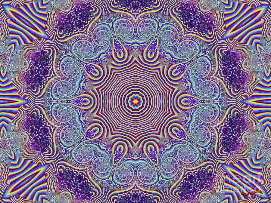 Eye Chart Digital Art by Bobby Hammerstone