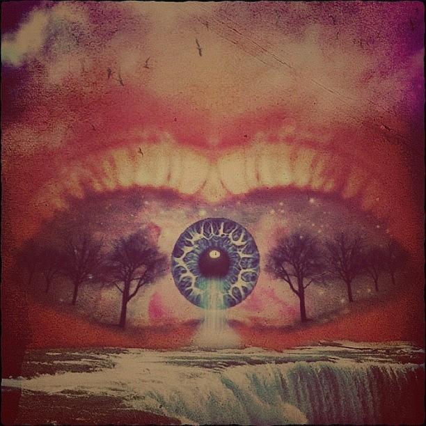 Tears Photograph - eye #dropicomobile #filtermania by Tatyanna Spears