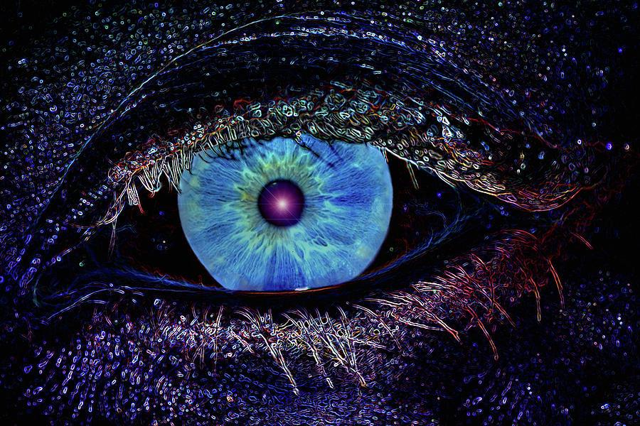 Eye Photograph - Eye In The Sky by Joann Vitali