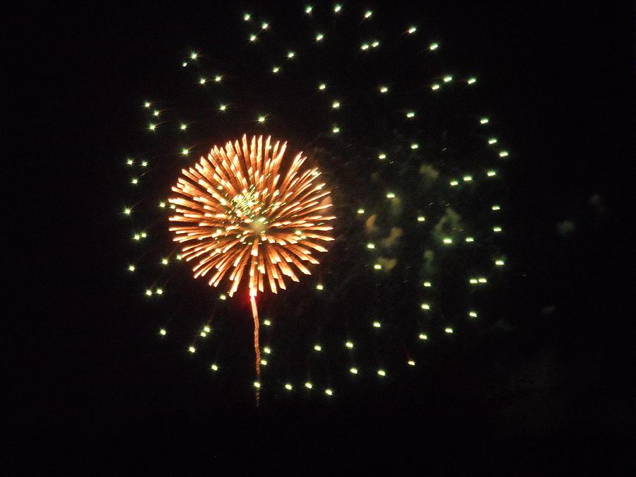 Fireworks Pyrography - Eye In The Sky by Joe Belland