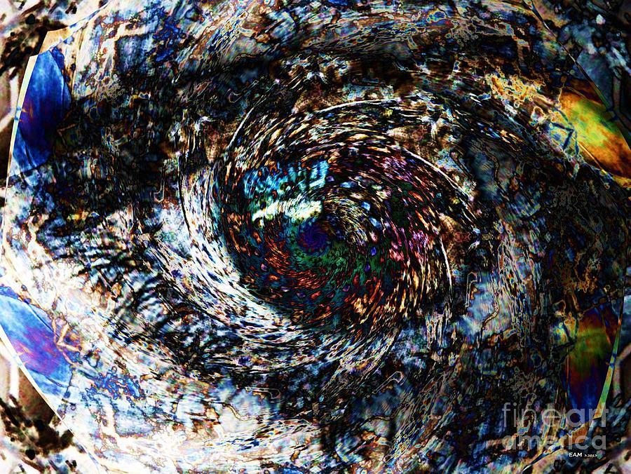 Fractal Art Digital Art - Eye Of A Hurricane Called You by Elizabeth McTaggart