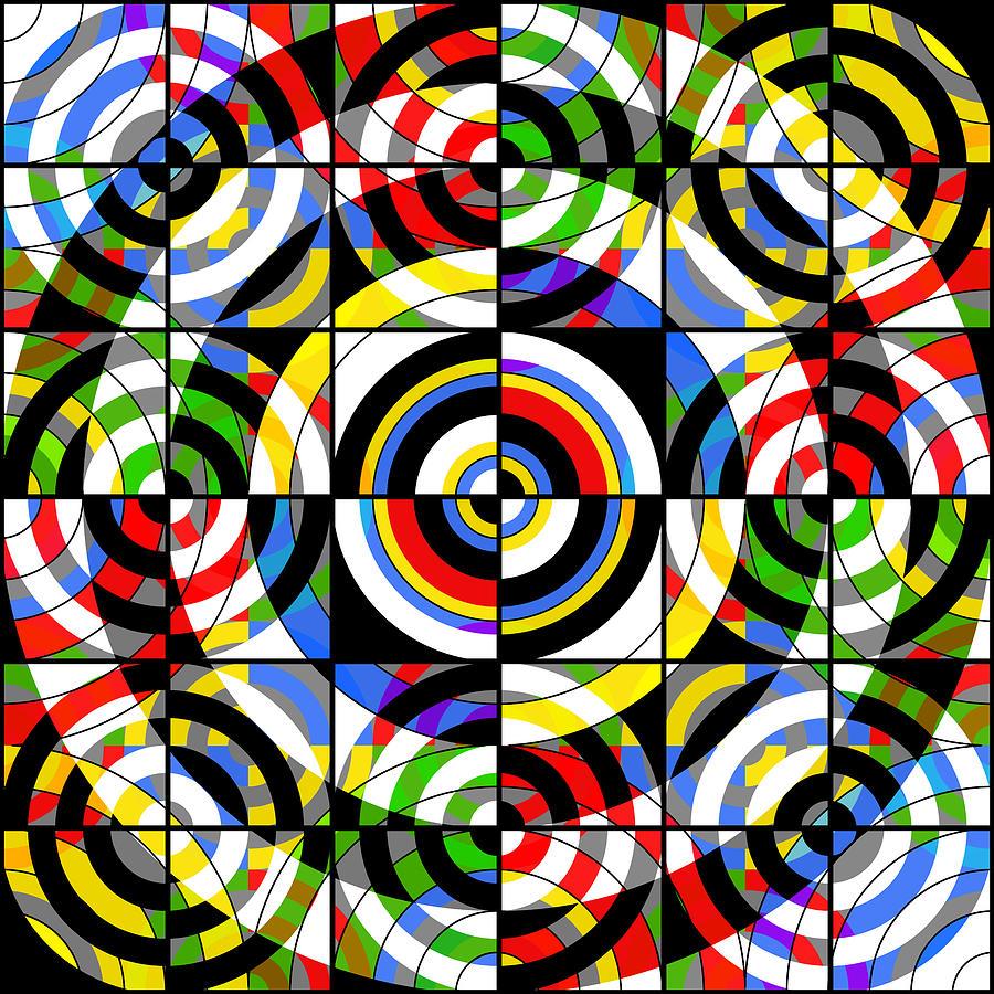 Target Digital Art - Eye On Target by Mike McGlothlen