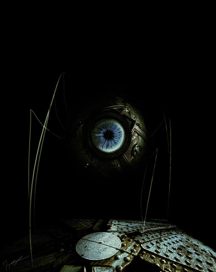Eye Robot Digital Art