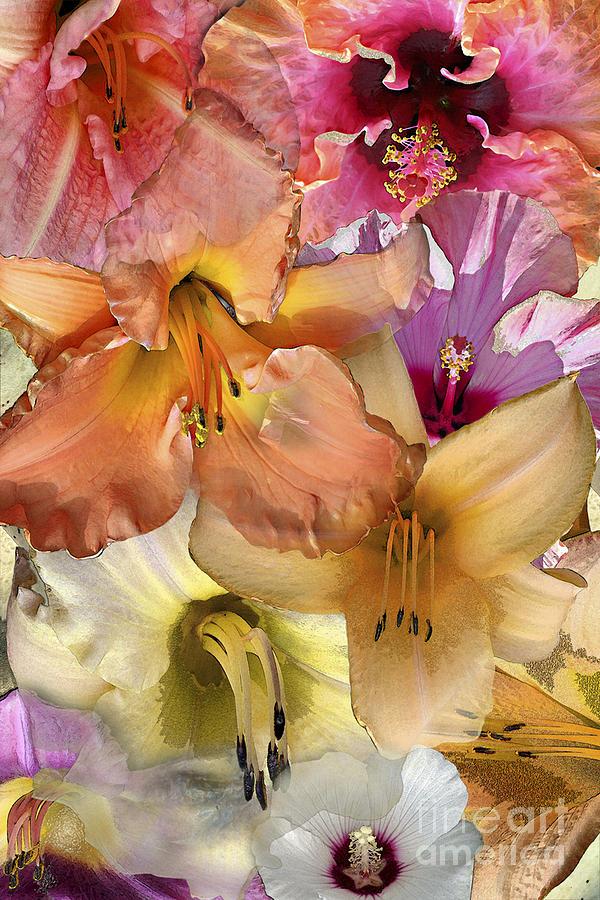 Daylily Digital Art - Eye See You by Paul Gentille