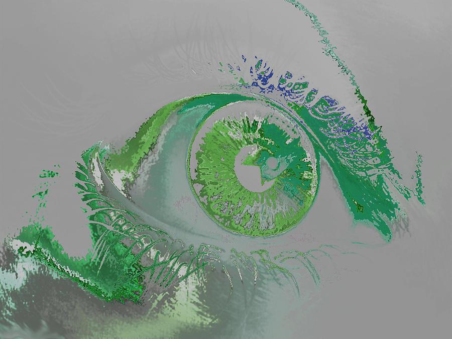 Eye Digital Art - Eye by Soumya Bouchachi