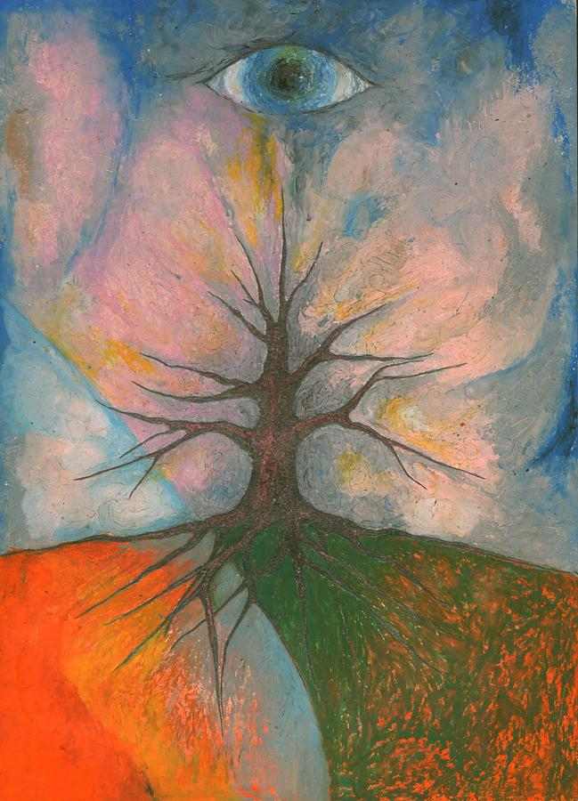 Colour Pastel - Eye by Wojtek Kowalski