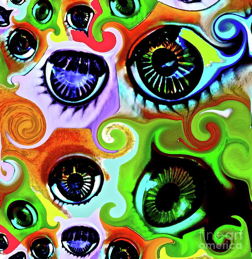 Eye Photograph - Eyecandy by Gwyn Newcombe