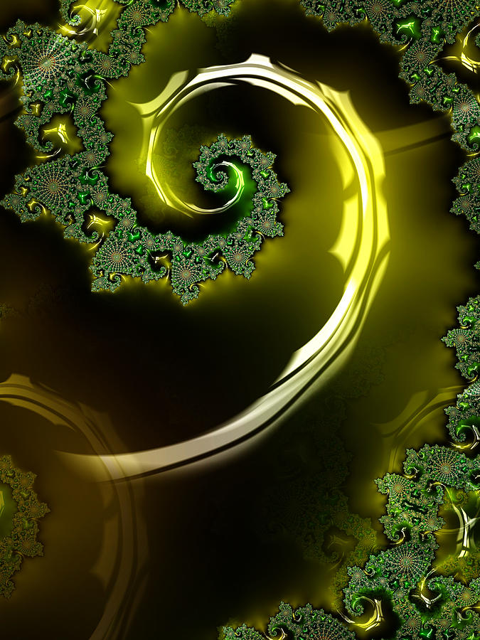 Chaos Digital Art - Eyes Of A Stranger by Jeff Iverson