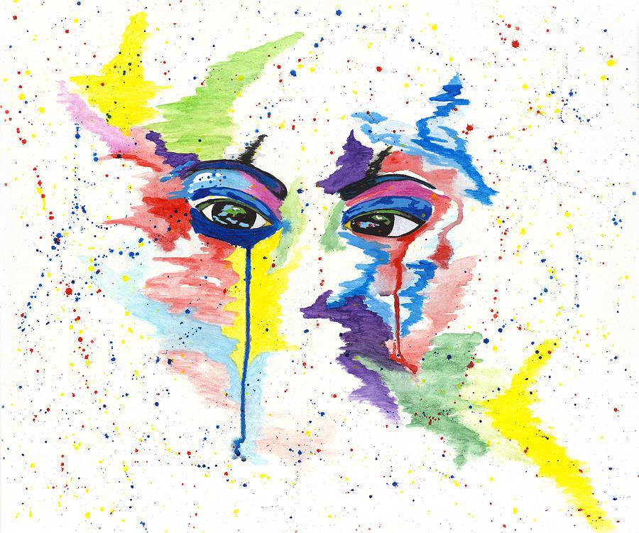 Eyez Painting - Eyez by Rishanna Finney