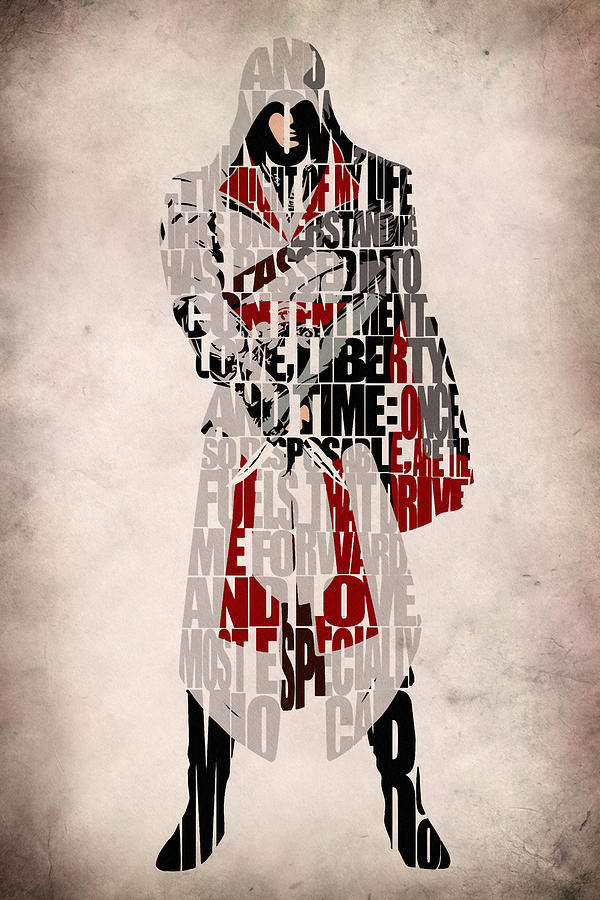 Ezio Assassin S Creed Brotherhood Digital Art By Inspirowl Design