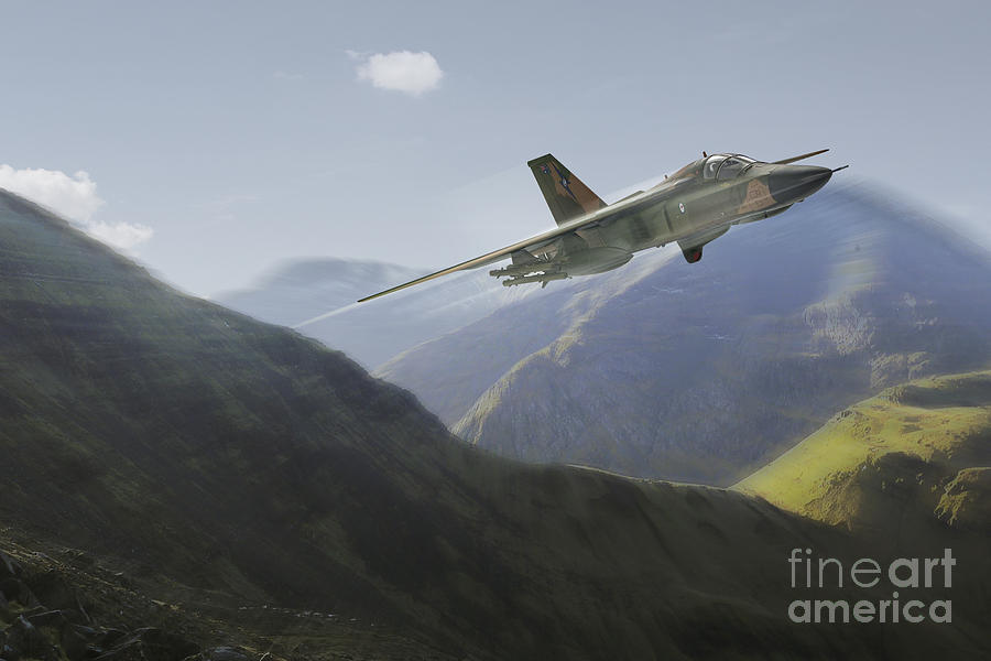 F-111 Digital Art by J Biggadike
