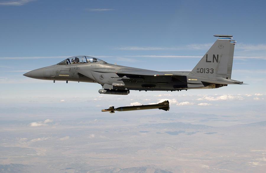 F-15e Strike Eagle Aircraft Photograph