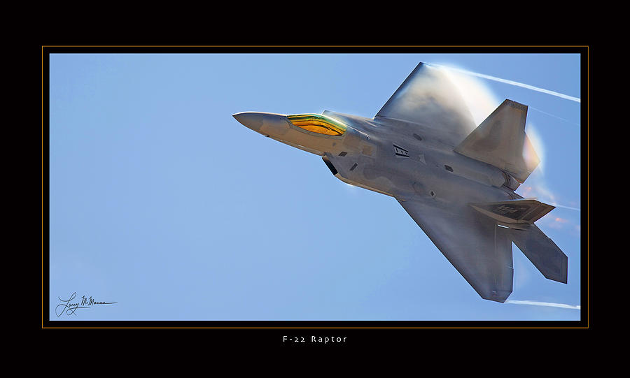 F-22 Raptor Photograph by Larry McManus