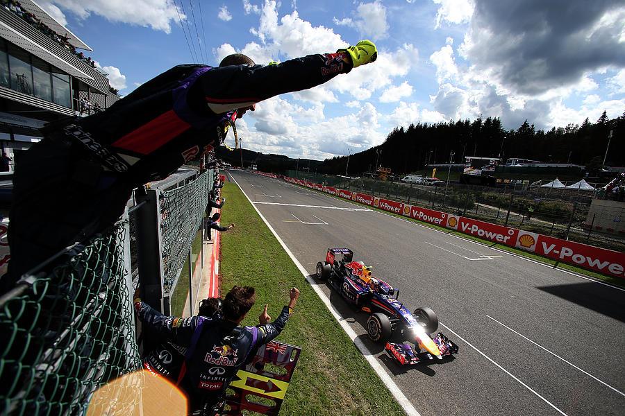 F1 Grand Prix Of Belgium Photograph by Mark Thompson