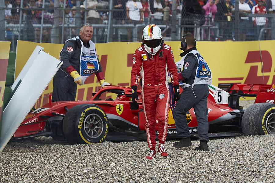 F1 Grand Prix of Germany Photograph by Getty Images