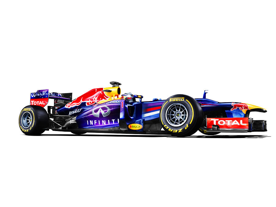 Car Photograph - F1 Red Bull Rb9 by Gianfranco Weiss