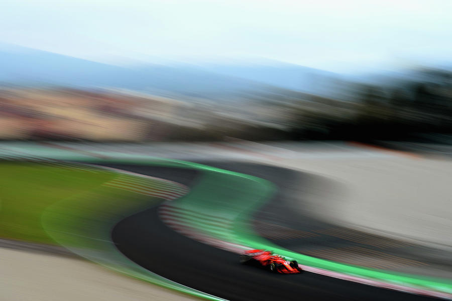 F1 Winter Testing In Barcelona - Day Photograph by Patrik Lundin