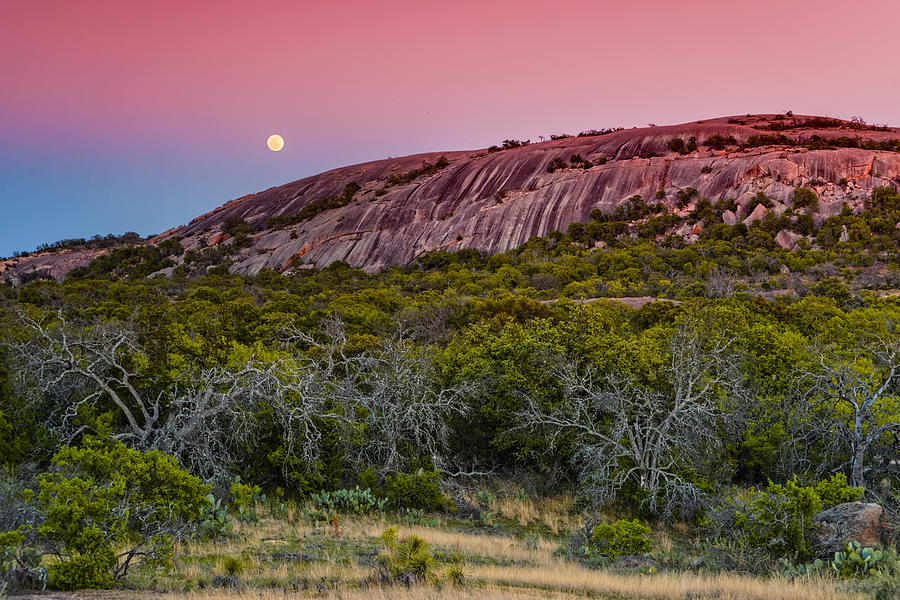 Enchanted Rock Photograph - F8 And Be There - Enchanted Rock Texas Hill Country by Silvio Ligutti
