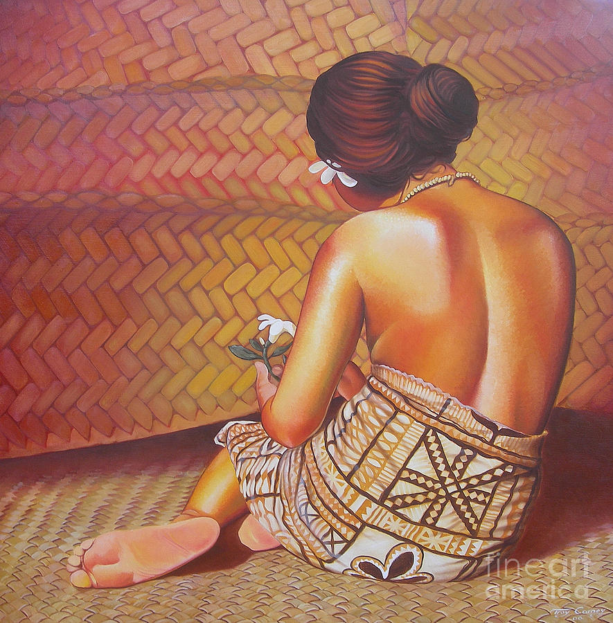 Hawaii Painting - Faangase by Troy Carney
