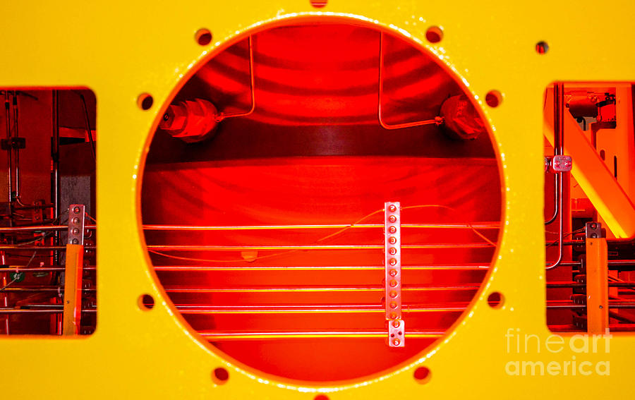 Industrial Abstract Photograph - Fabrication I by Thomas Carroll