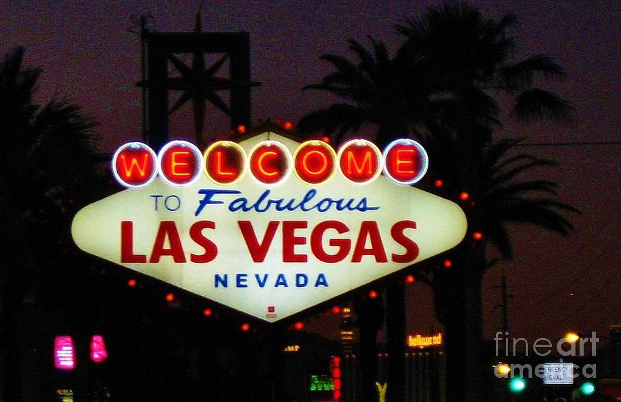 Las Vegas Photograph - Fabulous Las Vegas by John Malone