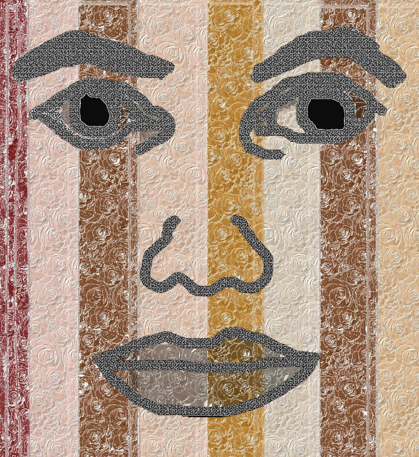 Face Digital Art - Face It by Pharris Art