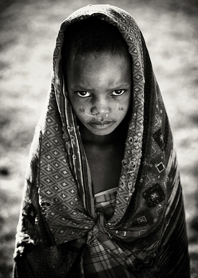 Africa Photograph - Face Of Africa by Goran Jovic