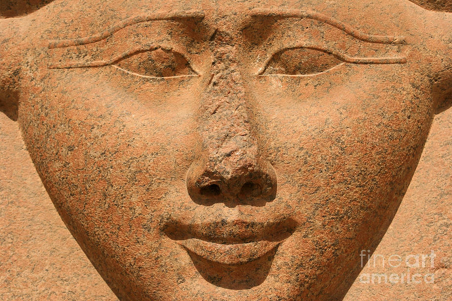Hathor Photograph - Face Of Hathor by Stephen & Donna OMeara