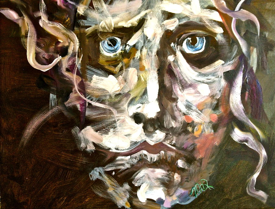 Face Series 3 Painting by Michelle Dommer
