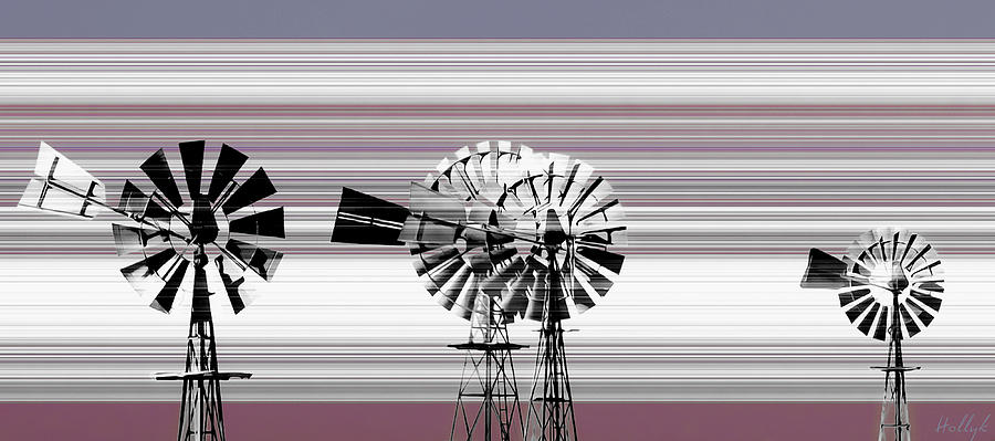 Windmills Photograph - Face To The Wind by Holly Kempe