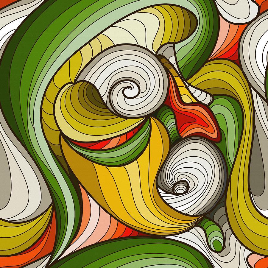 Print Digital Art - Monkey Pot by Don Kuing