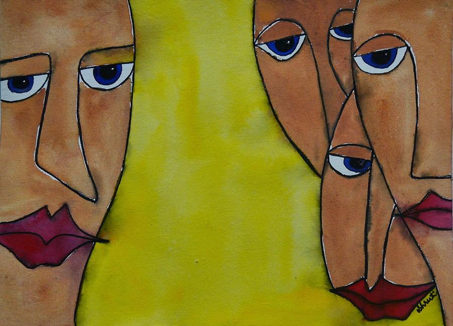 Faces Painting - Faces by Shruti Prasad