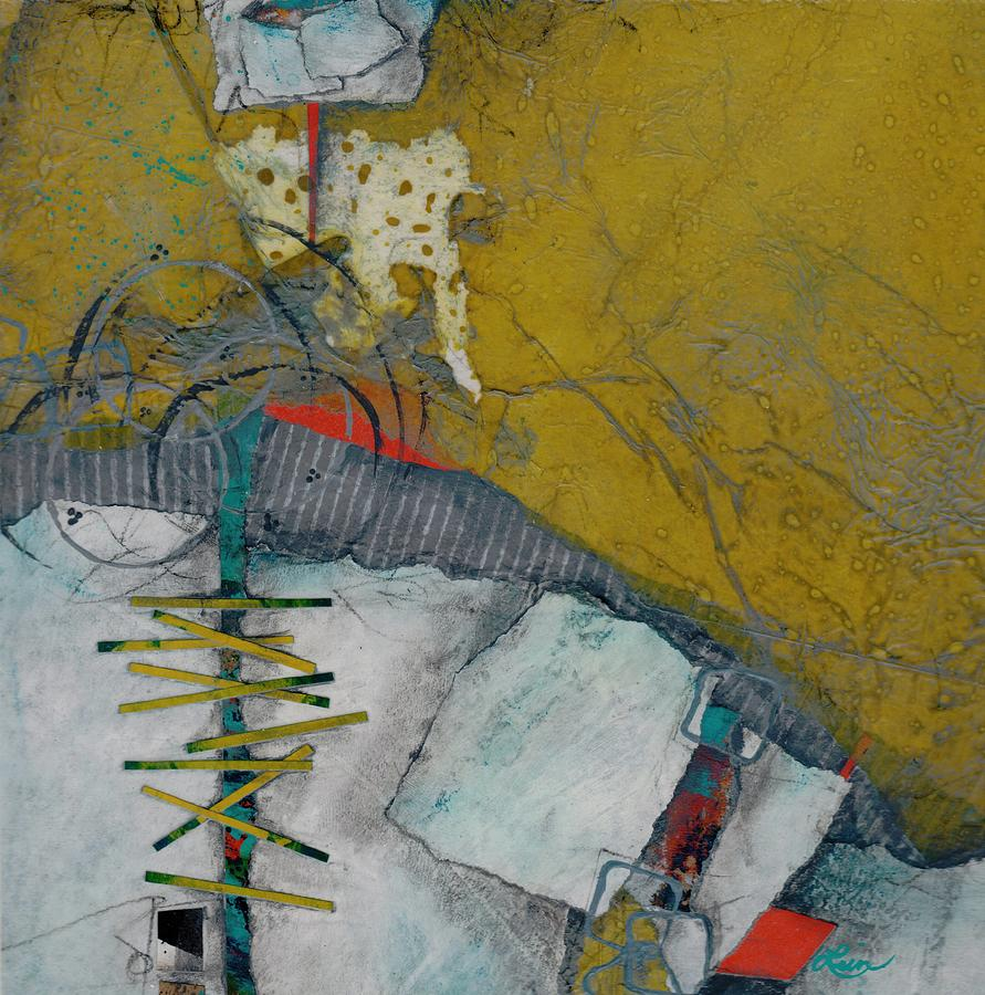 Collage Mixed Media - Facing a Fear by Laura  Lein-Svencner