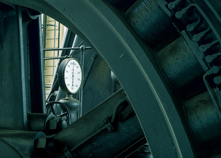 Factory Photograph - Factory Elements by Akos Kozari