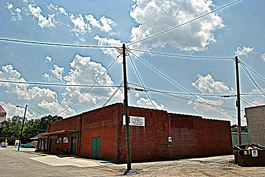Building Photograph - Factory Store by Beverly Hammond