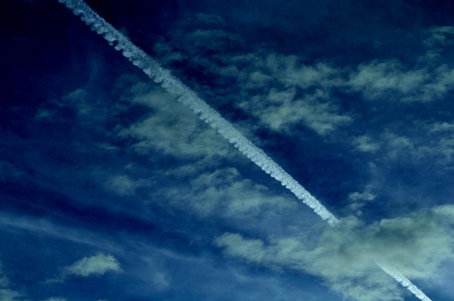 Sky Photograph - Fade Away by Robert Reese