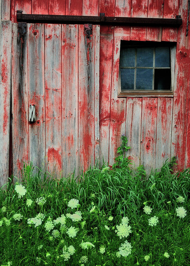 Barns Photograph - Fade To Gray by Thomas Schoeller