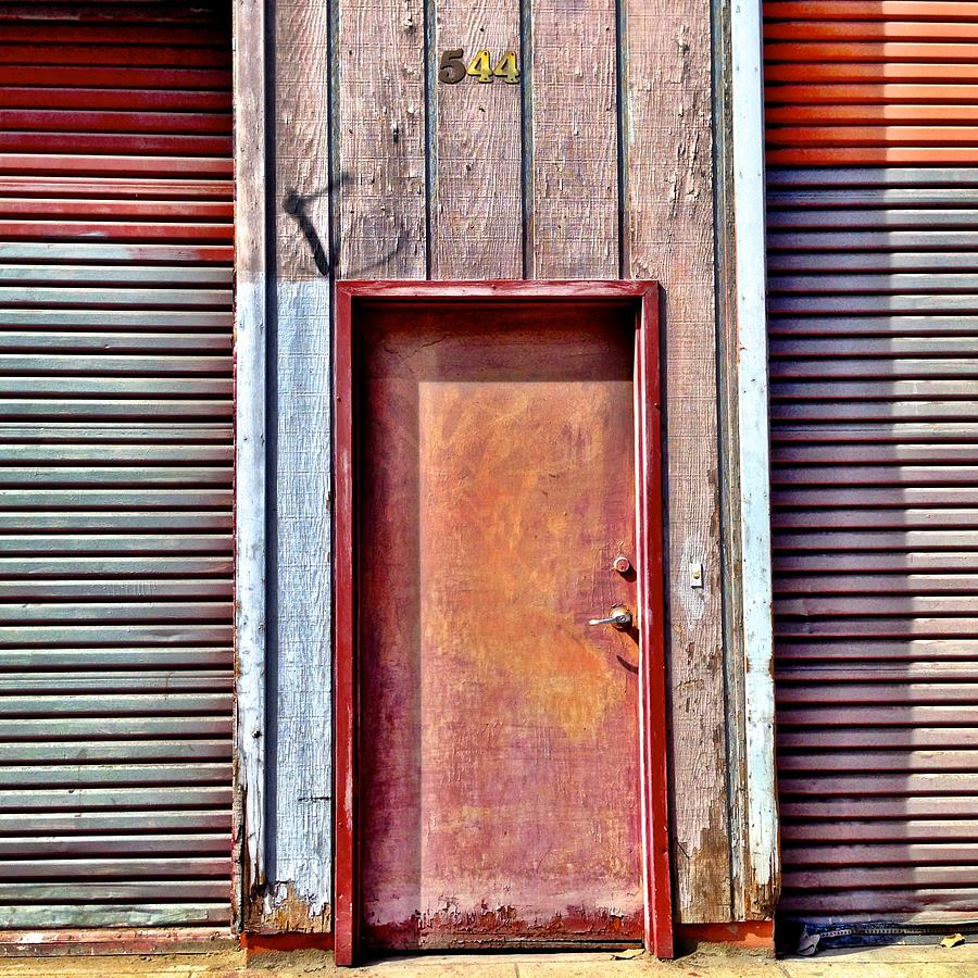 Faded Door Photograph by Julie Gebhardt