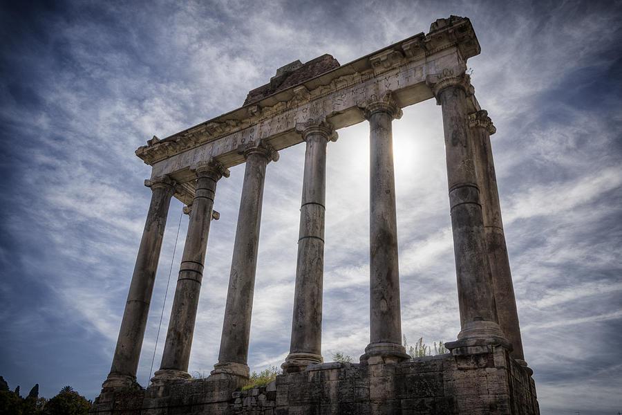 Joan Carroll Photograph - Faded Glory Of Rome by Joan Carroll