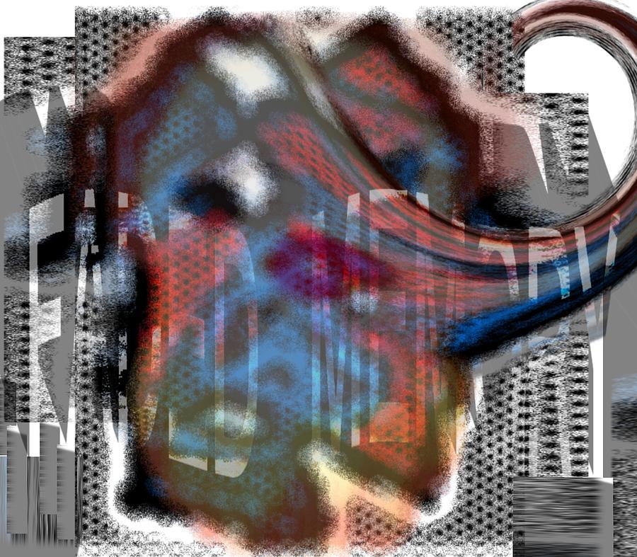 Memory Painting - Faded Memory by Pharris Art