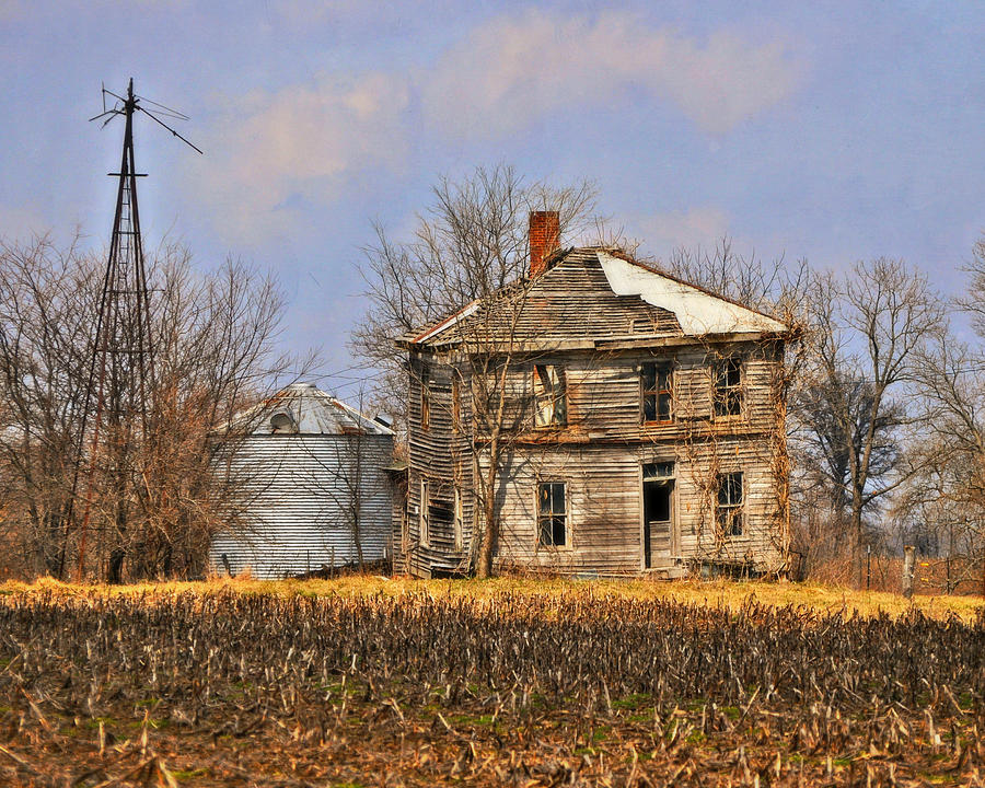 Farm Photograph - Fading Farm by Marty Koch