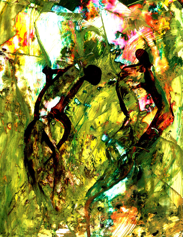 Abstract Painting - Fading Memories by Douglas G Gordon