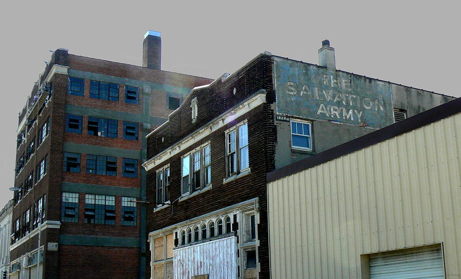 Urban Photograph - Fading Salvation by Lin Haring