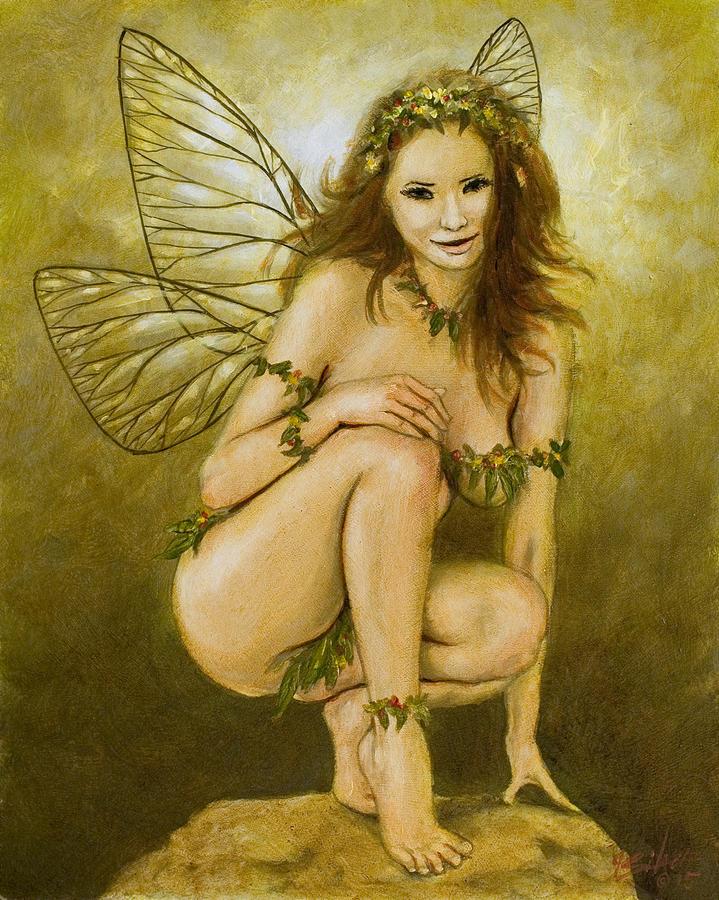 Faerie portrait III by John Silver
