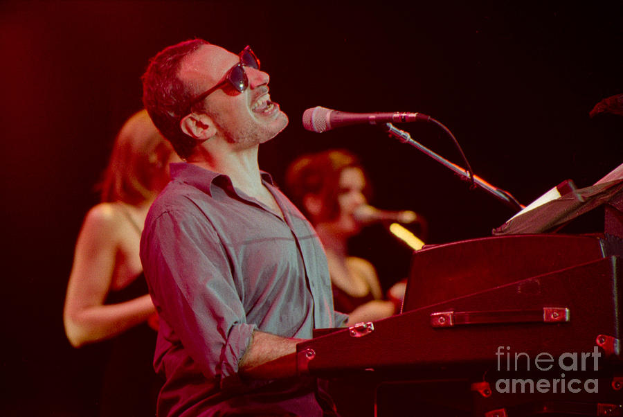 Steely Dan Photograph - Donald Fagan-gp07 by Timothy Bischoff