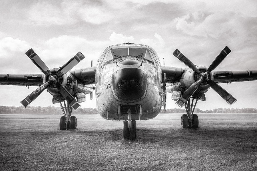 Usaf Photograph - Fairchild C-119 Flying Boxcar - Military Transport by Gary Heller