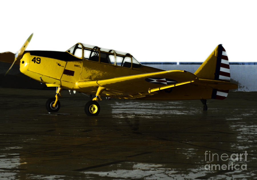 Airplanes Photograph - Fairchild Pt-26 by Steven Digman
